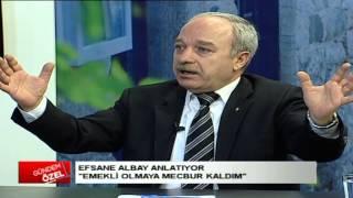 EFSANE ALBAY ERDAL SARIZEYBEK ANLATIYOR ''EMEKLİ OLMAYA MECBUR KALDIM'' PART 1