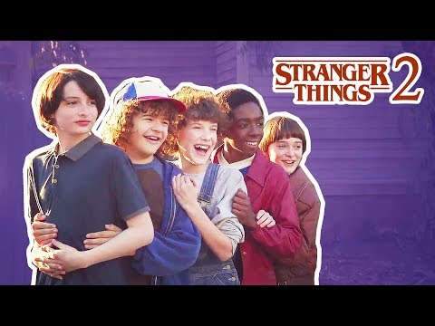 Stranger Things Cast Gets Scared In Real Life  Funny Moments