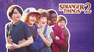 Download Stranger Things Cast Gets Scared In Real Life | Funny Moments 2017 Mp3 and Videos
