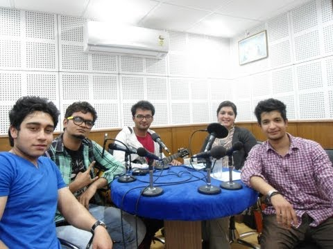 The Everyday Normal Guys with RJ Gurleen at DB Radio ( Chandigarh )