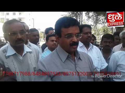 Dhule Express News Datta mandir rasta atikraman vad
