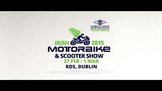 CAROLE NASH IRISH MOTORBIKE & SCOOTER SHOW 2015