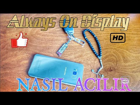 ALWAYS ON DİSPLAY NASIL AÇILIR?