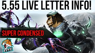 Patch 5.55 Live Leтter Info | SUPER CONDENSED VERSION!!!!!