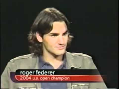 2004 Interview: Charlie Rose - A conversation with tennis great Roger Federer (2/2)