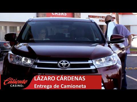 Entrega de Camioneta en Caliente Casino Mexicali Lázaro Cárdenas