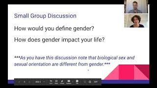Supporting Trans Students Workshop: Discussion - Defining Gender