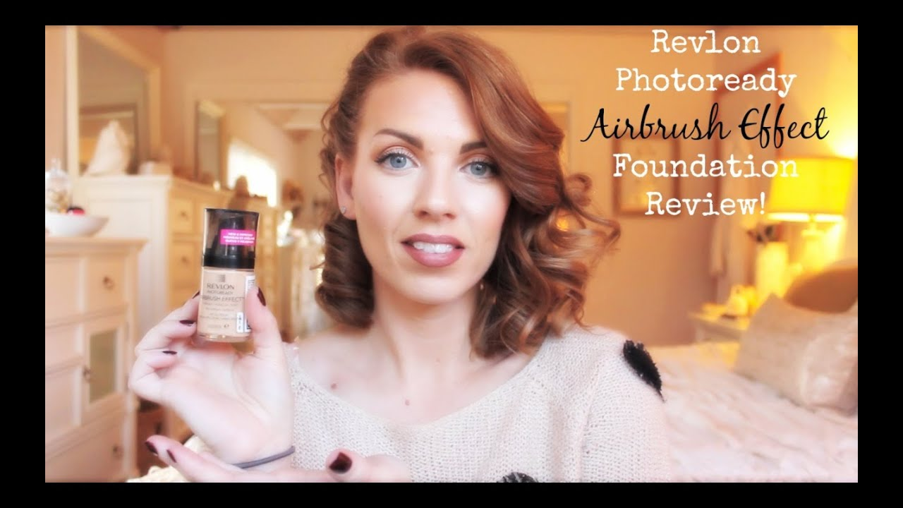 new revlon photoready airbrush effect foundation review