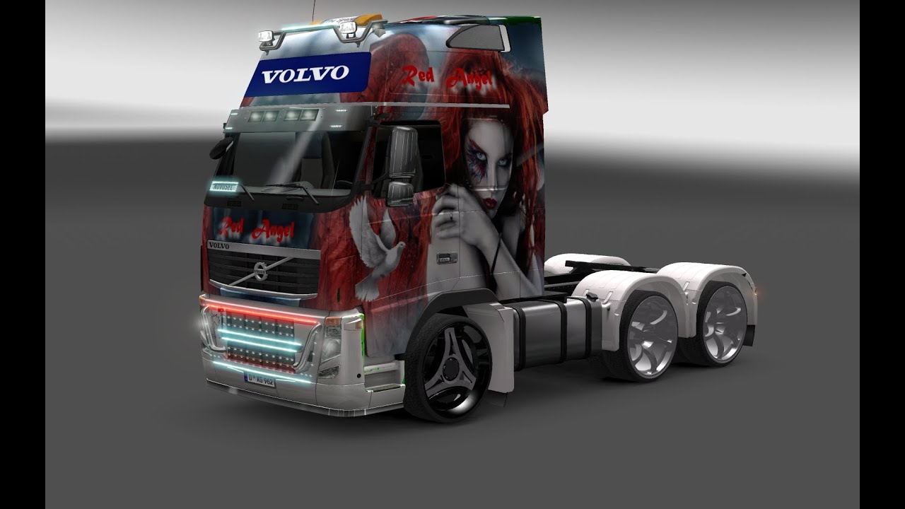 ets 2 volvo fh16 tuning hq youtube. Black Bedroom Furniture Sets. Home Design Ideas