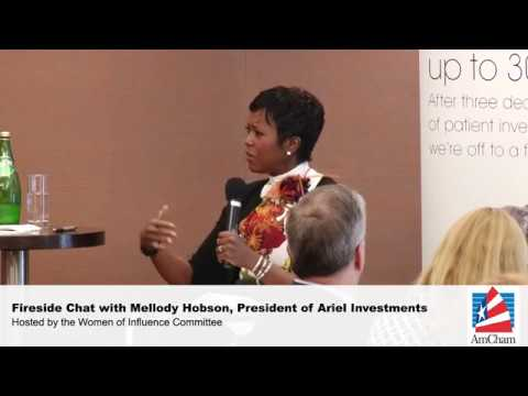Fireside Chat with Mellody Hobson, President of Ariel Investments, Sept 1