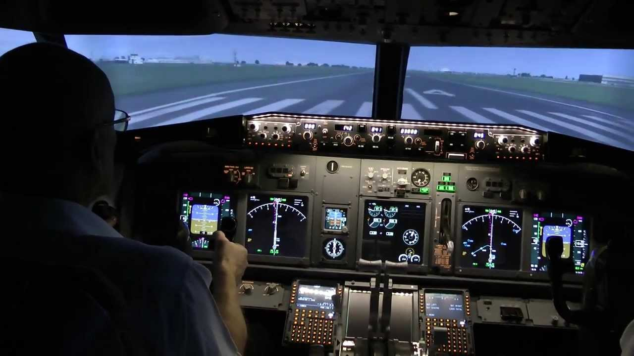 Resultado de imagen para Boeing 737 NG simulator