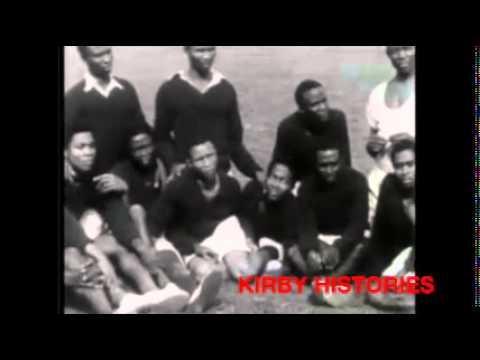 Nigerian Football Team Training 1949