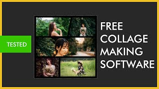 Free Photo Collage Making Software ( App ) For Windows Pc or mac - 2021 Update [ Easy  And Tested ] screenshot 3