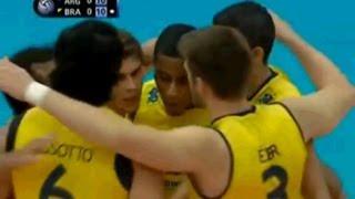 Liga Mundial de Volei Masculino 2013: Argentina 0 x 3 Brasil [ FIVB World League ]