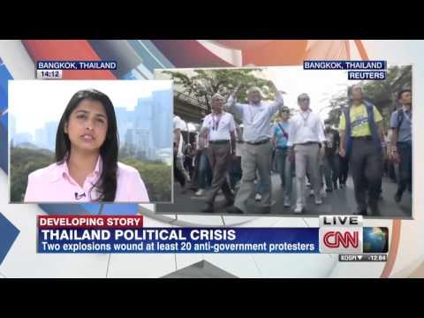 กำนันสุเทพ Thailand Protests Explosions hit protest in Bangkok