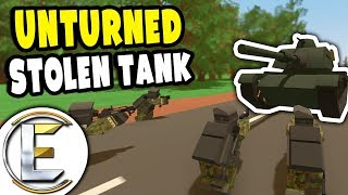 Stolen M60 Tank Rampage | Unturned Military RP - Mission: Take Down The Tank (Roleplay)