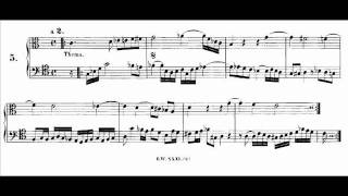J.S.Bach - Musikalisches Opfer BWV1079 - Canon a 2, per tonos
