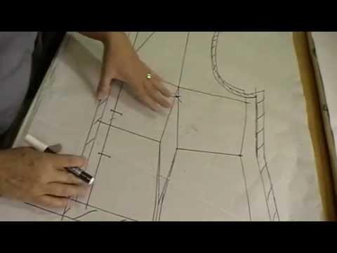 4efa7f870 Blazer Tecido - Modelagem - YouTube