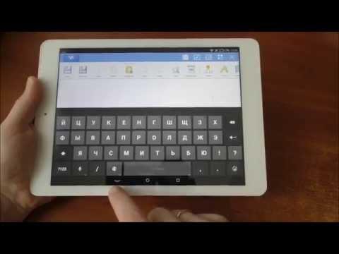 Как на планшете включить клавиатуру
