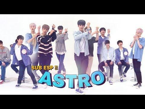 [SUB ESPAÑOL] ASTRO en Weekly Idol (Ep.307)