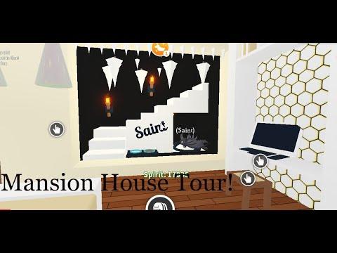 Adopt Me! | Mansion House Tour + Shadow Dragon Bedroom ...
