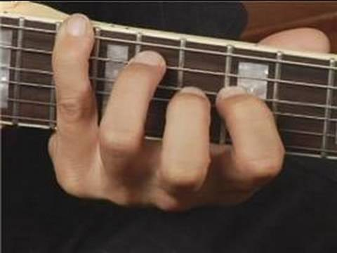 Play F Dim Chord on the Bottom Guitar Strings: Root Position ...