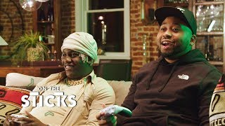 Lil Yachty and DJ Akademiks Go Head-to-Head In a Game of 'Fortnite' | On The Sticks
