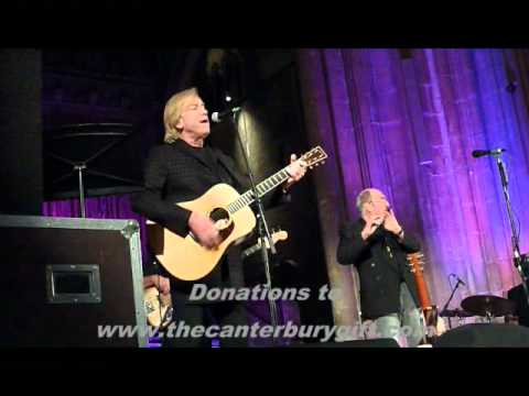 Justin Hayward & Ian Anderson - Canterbury Cathedral 10 Dec 2011 - Nights In White Satin