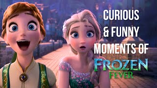 12 Curious & FUNNY Moments of Frozen Fever Short Film!