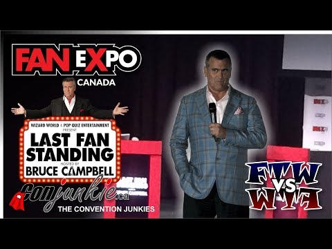 Last Fan Standing with Bruce Campbell - FAN eXpo Canada 2017