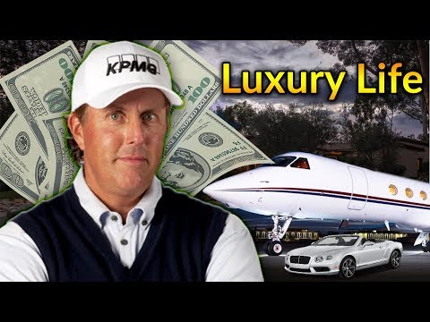 Phil Mickelson Luxury Lifestyle | Bio, Family, Net worth, Earning, House, Cars