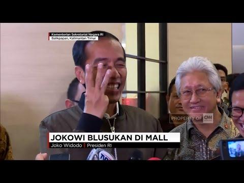 Jokowi Blusukan Di Mal, Jokowi Beli Sendal U0026 Kaus Dalam Untuk Anak