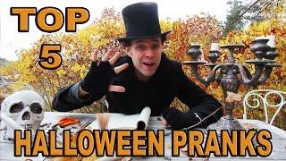 5 Top Halloween Pranks on family -Julien Magic