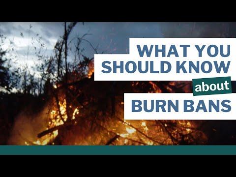 Can I burn?   WA Burn Bans