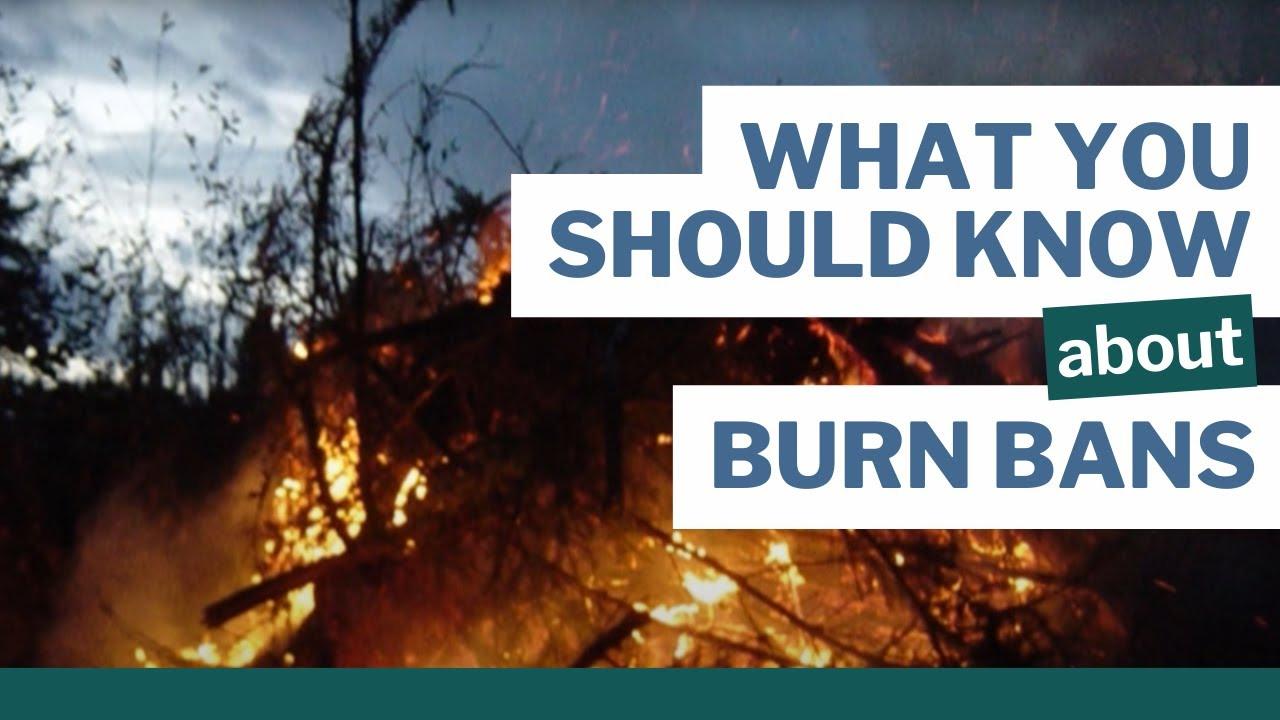 Can I burn? | WA Burn Bans