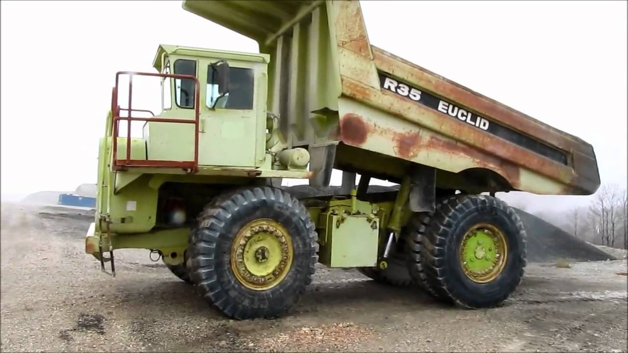 Off Road Dump Truck >> 1993 Euclid R35 off road end dump truck for sale | no