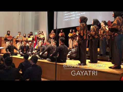 "Bogor Agricultural University Student Choir Agria Swara: ""Gayatri"" (Bagus S. Utomo)"