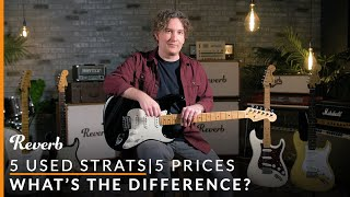 5 Used Strats, 5 Prices: What's the Difference? | Reverb Tone Report Video