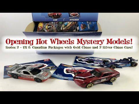 Hot Wheels   MYSTERY MODELS   CADILLAC LMP     NEU