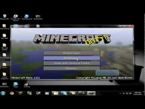 Minecraft: X-ray 1.3.2 Wallhack Download & Installation tutorial! [HD]