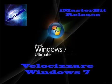 Velocizzare Windows 7 AL MASSIMO in pochi passi!!!