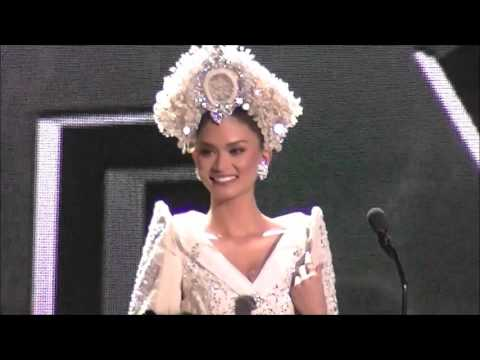 Pia Wurtzbach miss universe philippines 2015 national costume