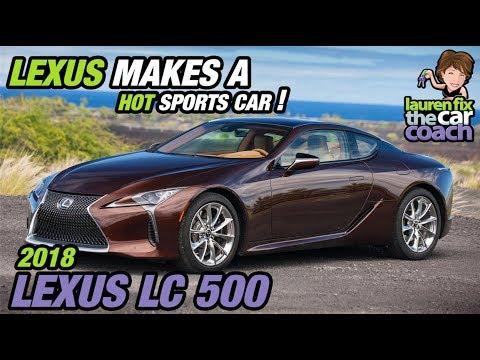 Lexus LC Lexus Makes A Hot Sports Car YouTube - Sports car makes
