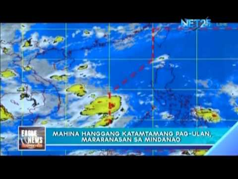 ITCZ brings moderate rains in Palawan, Visayas and Mindanao