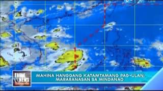 ITCZ brings moderate rains in Palawan, Visayas and Mindanao
