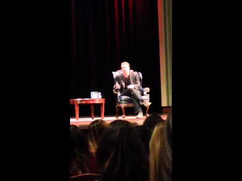 Matthew Perry talks Friends at University of Pennsylvania