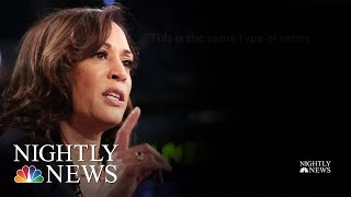 Retweet From Donald Trump Jr. Sparks Kamala Harris 'Birtherism' Controversy | NBC Nightly News