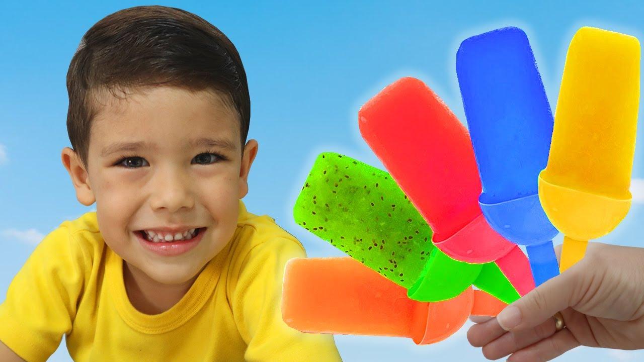 الايسكريمات الشهية !! Delicious ice creams