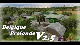 FS 15 | Présentation de la Belgique Profonde V2.5 in game