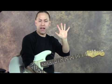 The I– IV–V Chord Progression and the Blues (Guitar Lesson)